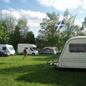 Lazonby Pool camp site